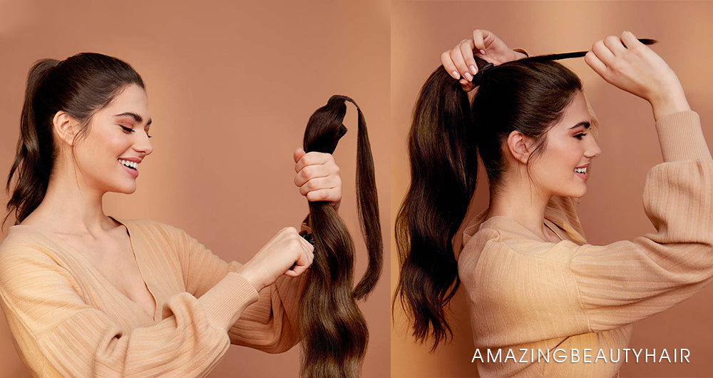 Ponytails Hair Extensions