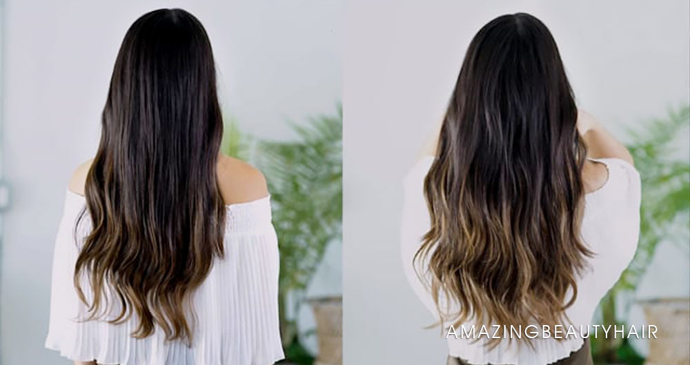 Hair Before and After Image
