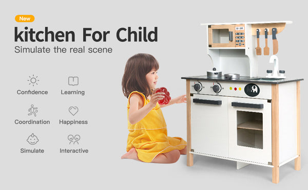 Robotime Best Gifts for Kids Kitchen Playset