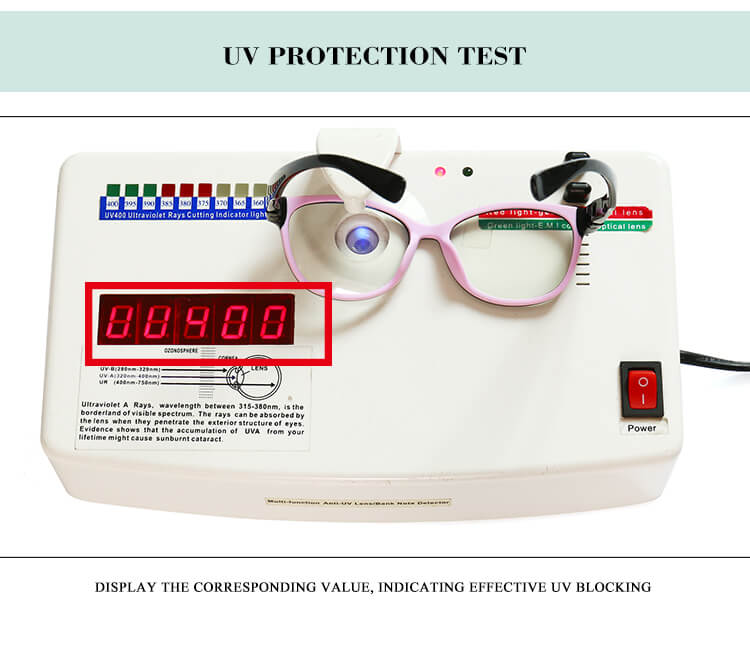 children's blu ray glasses monitoring data