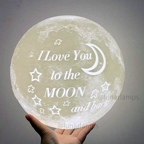 I want to take the moon off and give it to you