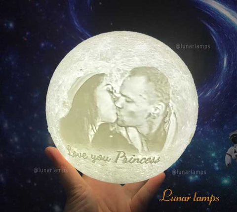 moon lamp for lover