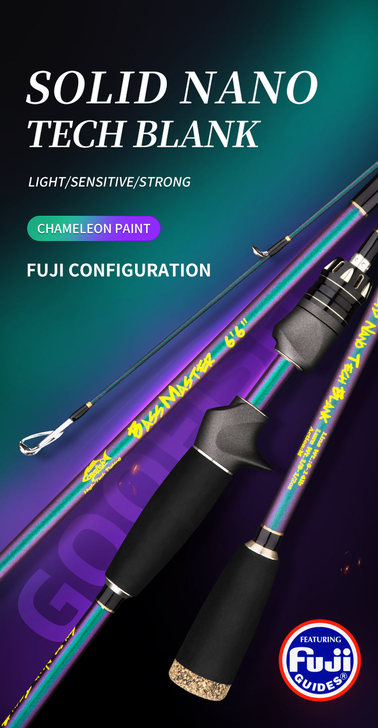 goofish bassmaster fishing rod