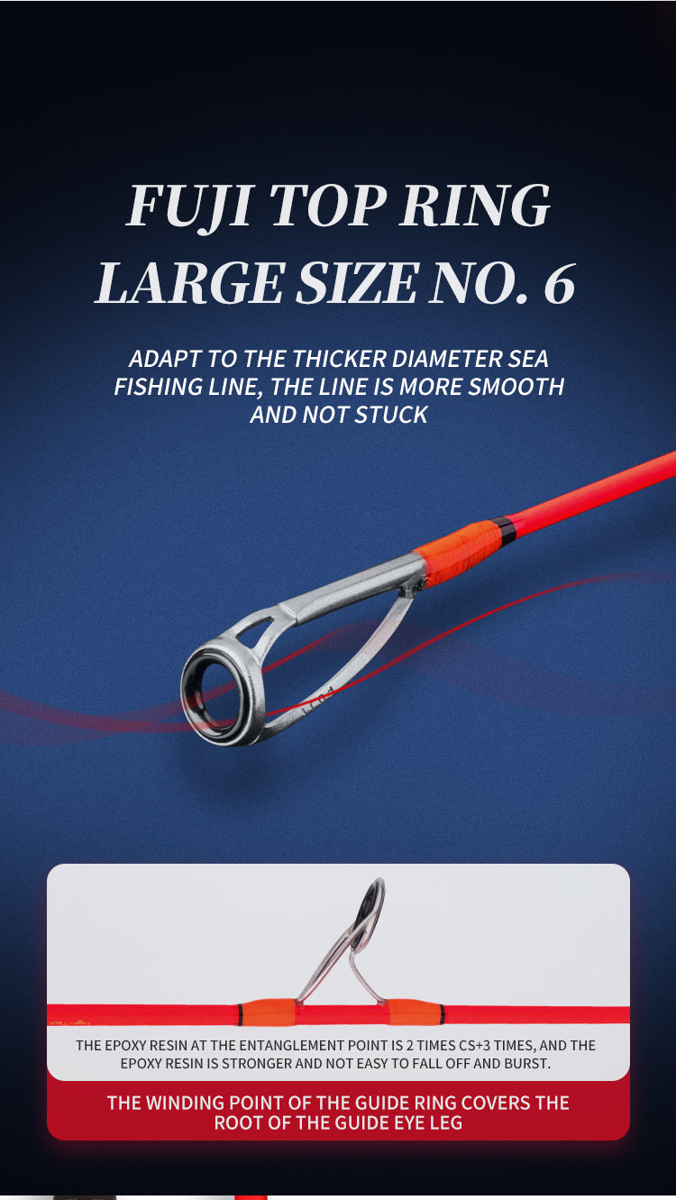 goofish jigging rod light small shallower light pitch jigging rod goofish orange