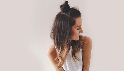 Back to School hairstyle Bohemian messy braid