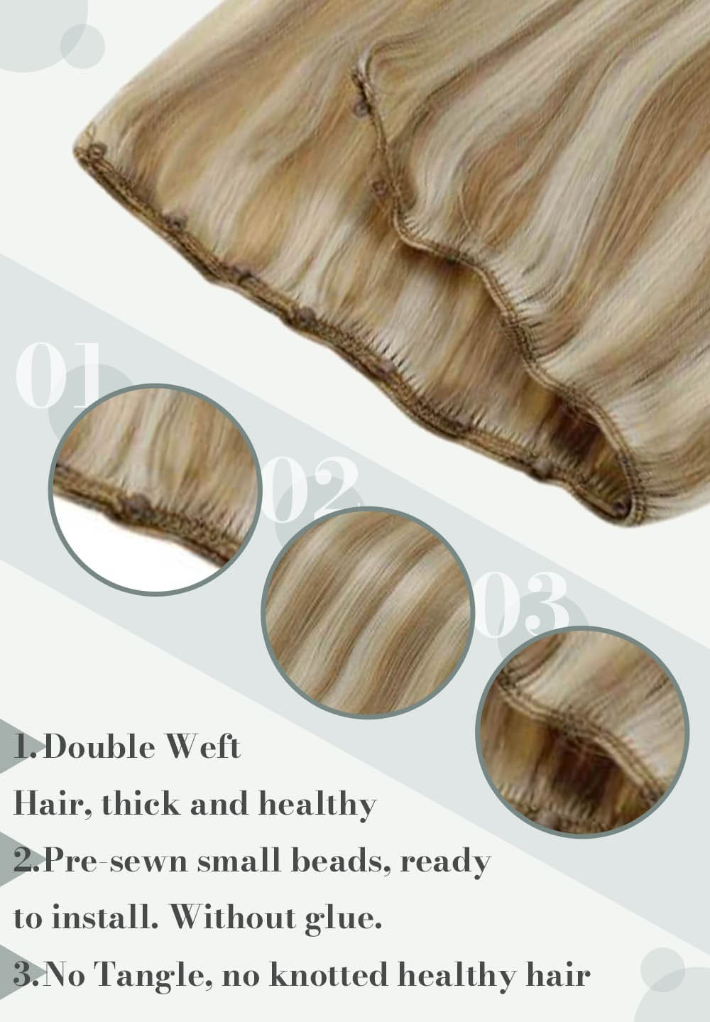 #18 613 the most popular hair color can be selected in many hair colors human hair extensions