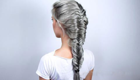 Back to School hairstyle Fishtail Braid