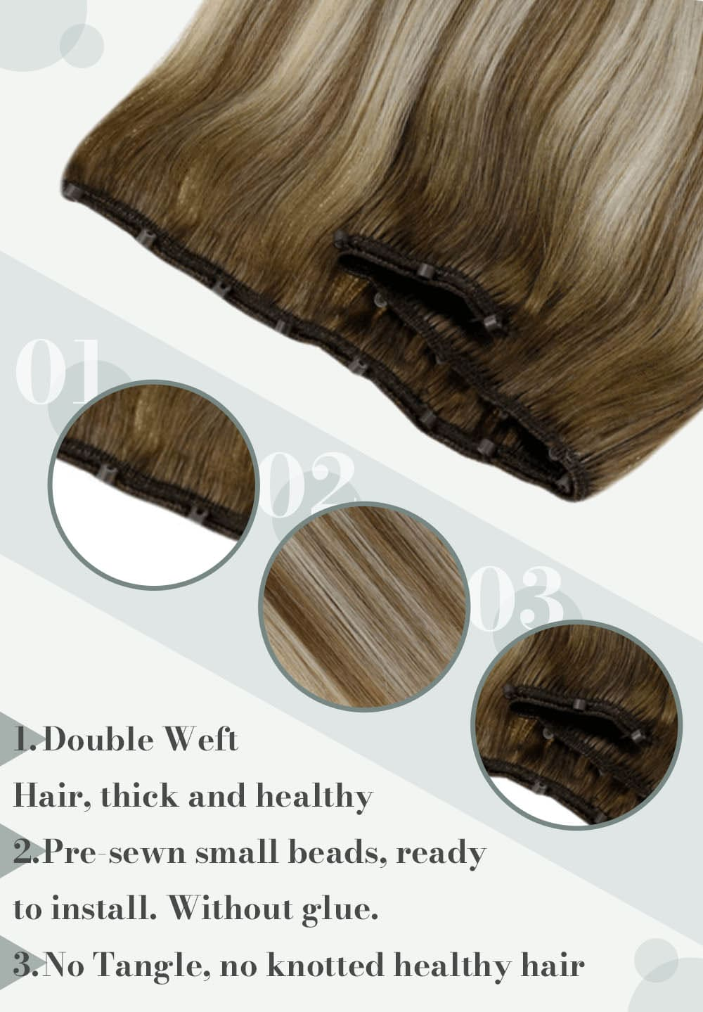 #8 60 8 human hair weft silky straight and soft natural hair extensions can be dyed and straighten high quality
