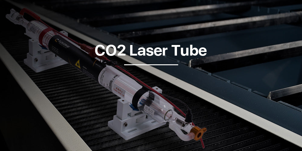 35-70W CO2 Laser Tube Upgraded Metal Head CR Series