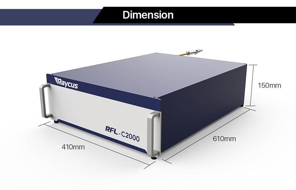 Raycus 2000W CNC Fiber Laser Source For Welding