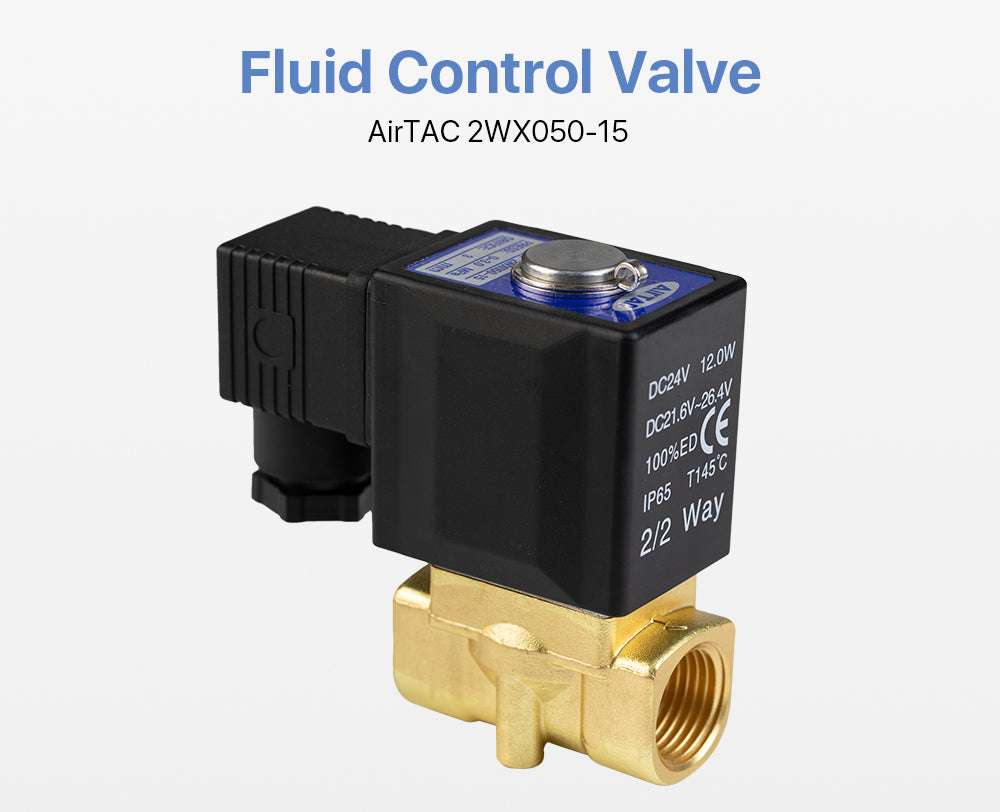 Fluid Control Valve AirTAC 2WX050-15 3.0Mpa for Fiber Laser Cutting Machine