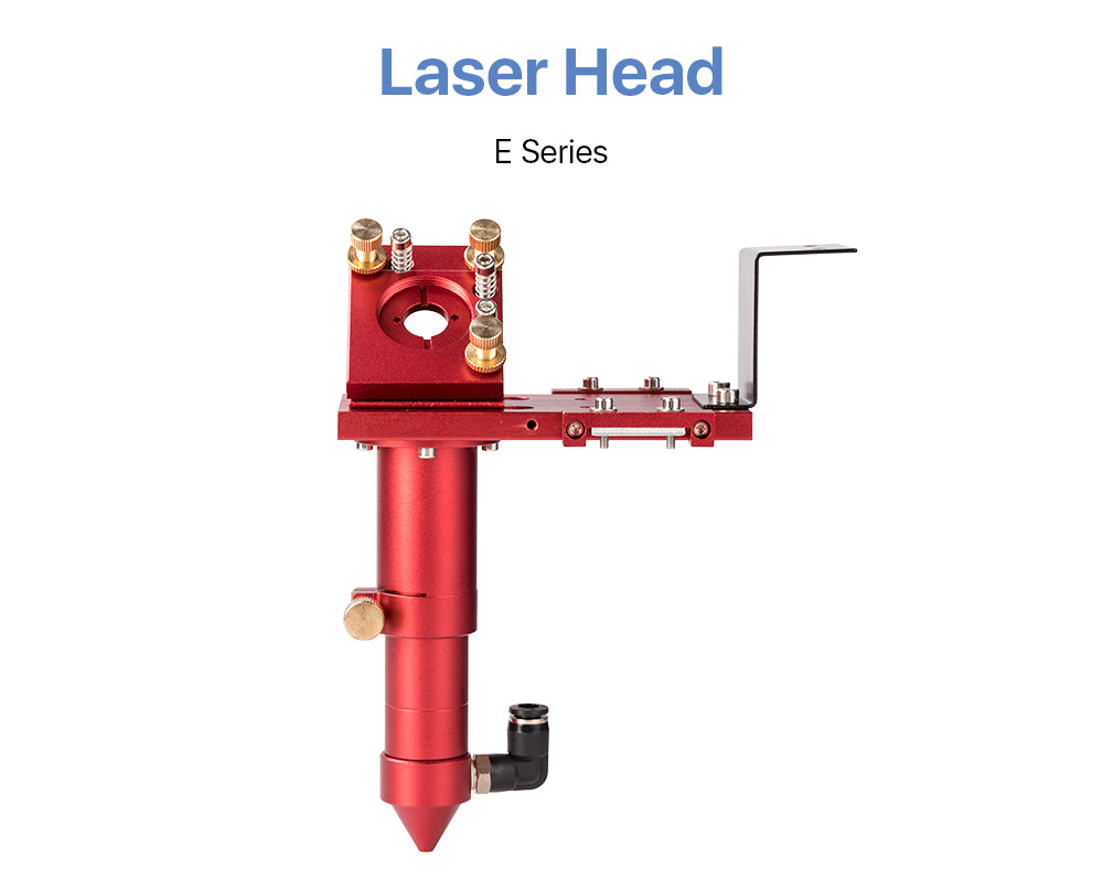 CO2 Laser Head for Focus Lens Dia.18/20mm FL38.1/50.8/63.5/101.6mm for Laser Cutting Machine