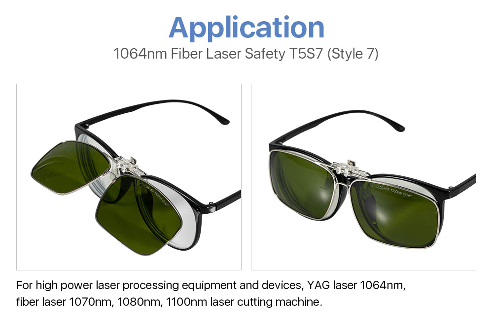1064nm Clip-on Laser Safety Goggles