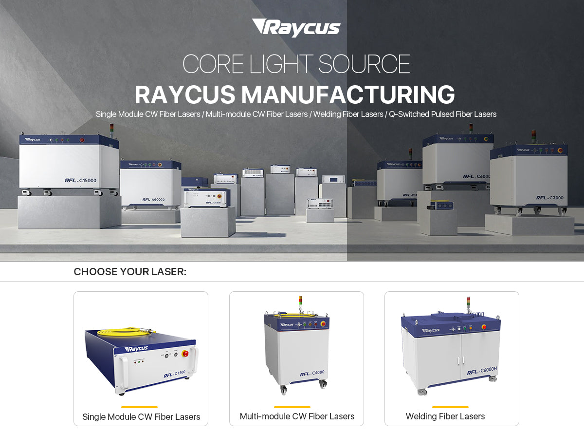 Raycus laser source