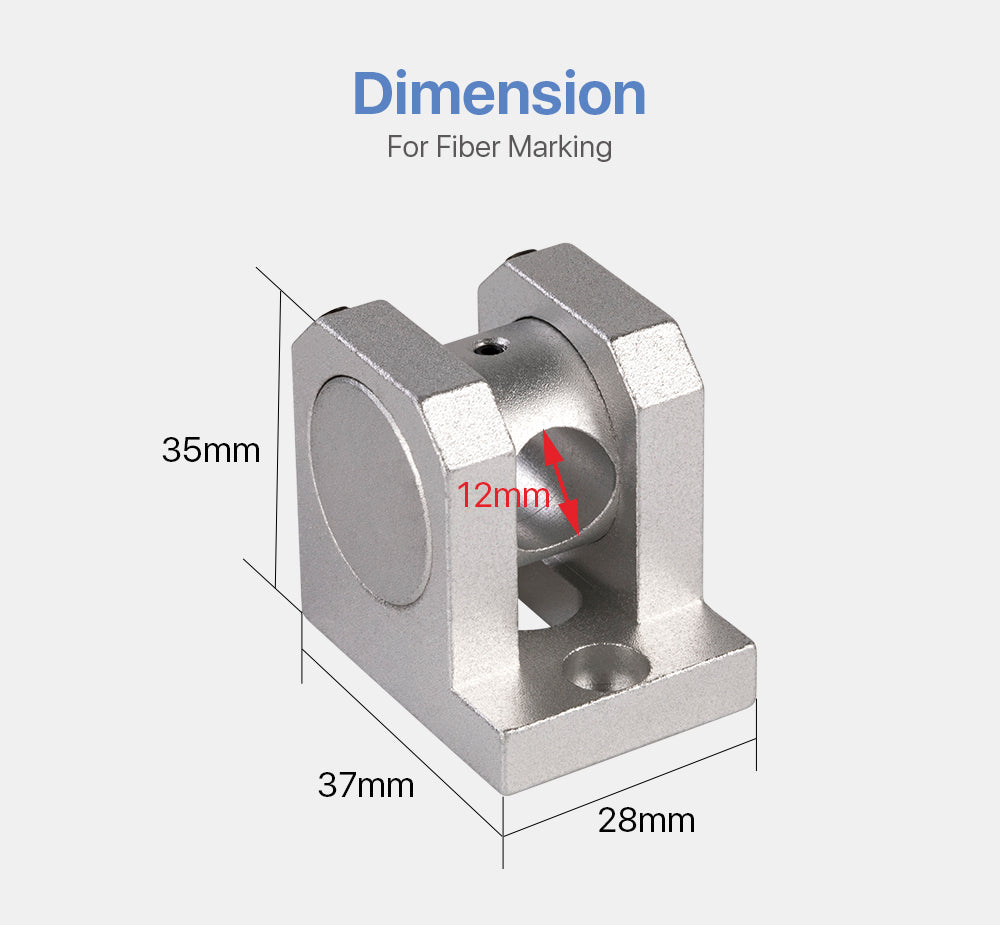 Red Laser Locator Diameter 12mm for Fiber Metal Marking Machine