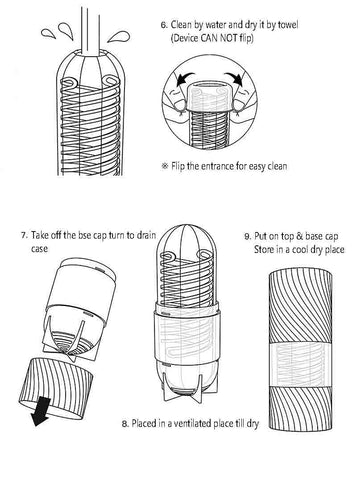 how to use tenga spinner
