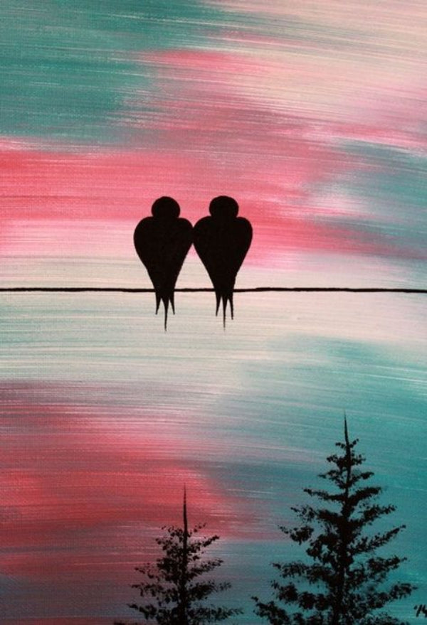 30 Easy Acrylic Painting Ideas for Beginners, Easy Landscape Painting Ideas for Beginners, Simple Canvas Painting Ideas for Kids, Easy Bird Paintings, Easy Abstract Paintings