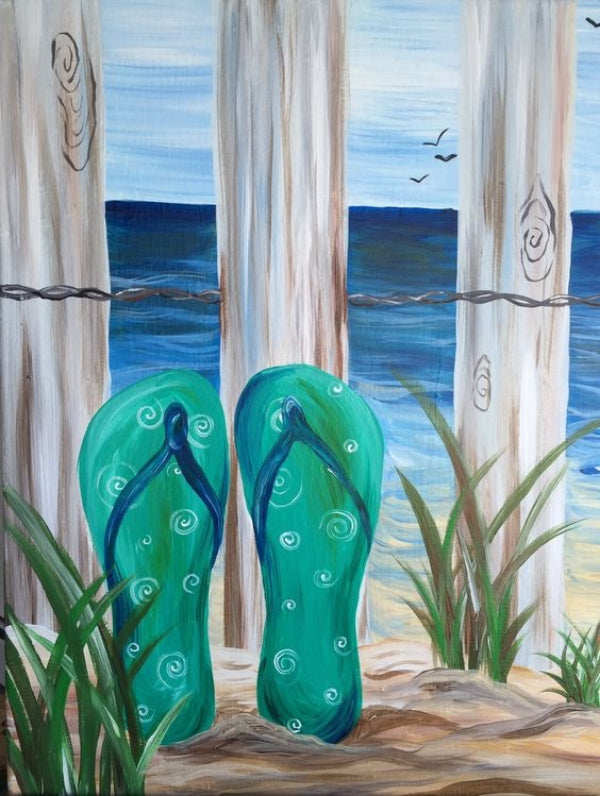 30 Easy Acrylic Painting Ideas for Beginners, Easy Landscape Painting Ideas for Beginners, Simple Canvas Painting Ideas for Kids, Beach Painting, Easy Abstract Paintings