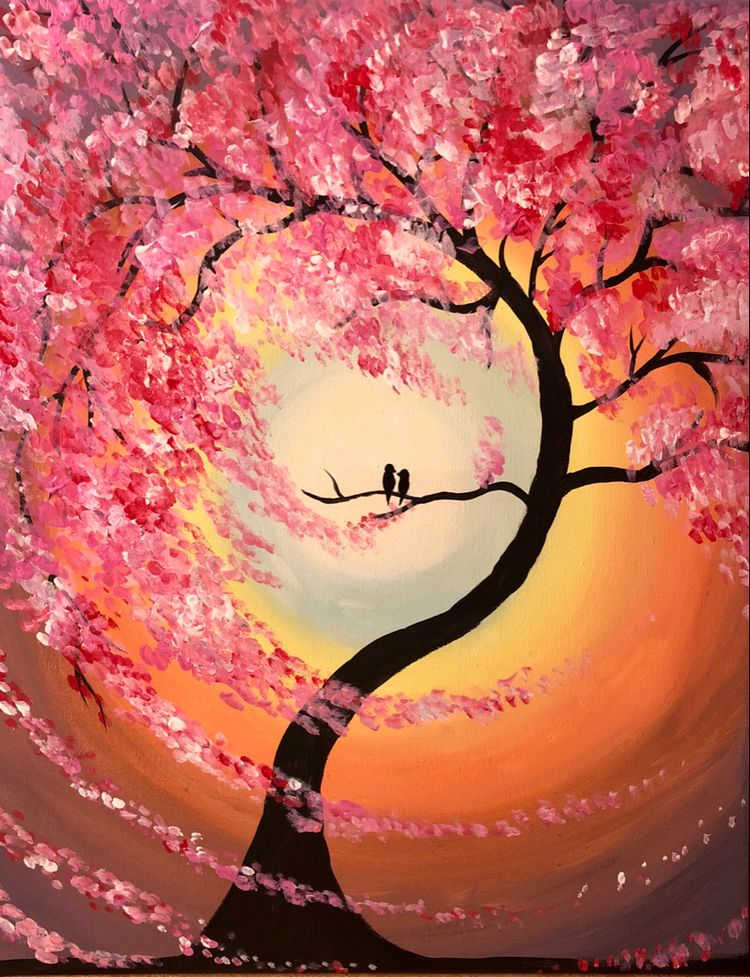 30 Easy Acrylic Painting Ideas for Beginners, Easy Landscape Painting Ideas for Beginners, Simple Canvas Painting Ideas for Kids, Easy Tree Paintings, Bird Painting, Easy Abstract Paintings