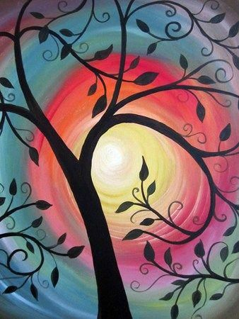 30 Easy Acrylic Painting Ideas for Beginners, Easy Landscape Painting Ideas for Beginners, Simple Canvas Painting Ideas for Kids, Easy Tree Paintings, Easy Abstract Paintings