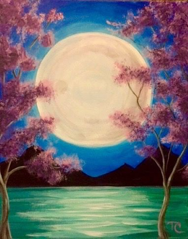 30 Easy Acrylic Painting Ideas for Beginners, Easy Landscape Painting Ideas for Beginners, Simple Canvas Painting Ideas for Kids, Easy Tree Paintings, Moon Painting, Easy Abstract Paintings