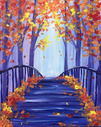 30 Easy Acrylic Painting Ideas for Beginners, Easy Landscape Painting Ideas for Beginners, Simple Canvas Painting Ideas for Kids, Easy Tree Paintings, Autumn Painting, Easy Abstract Paintings