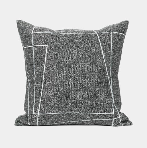 Modern Pillows for Couch, Contemporary Black and White Throw Pillows, Modern Sofa Pillows, Decorative Pillows for Couch