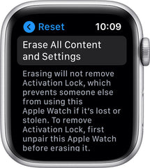 how to unpair apple watch