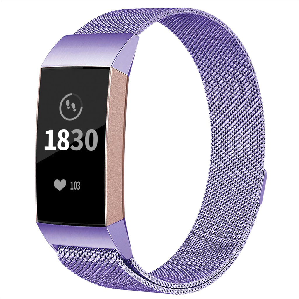 Fitbit charge 3 band Milanese loop band adepoy band