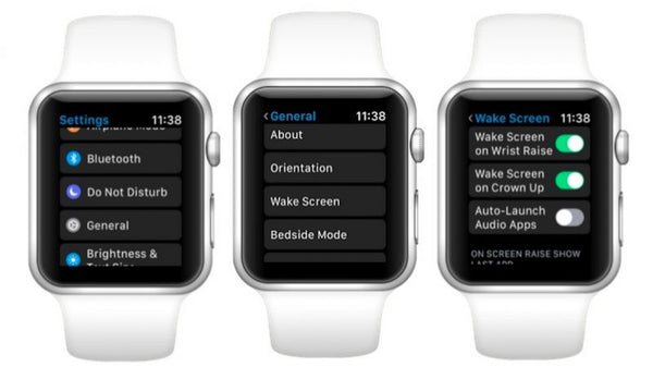 Apple Watch Auto-Launch Audio Apps