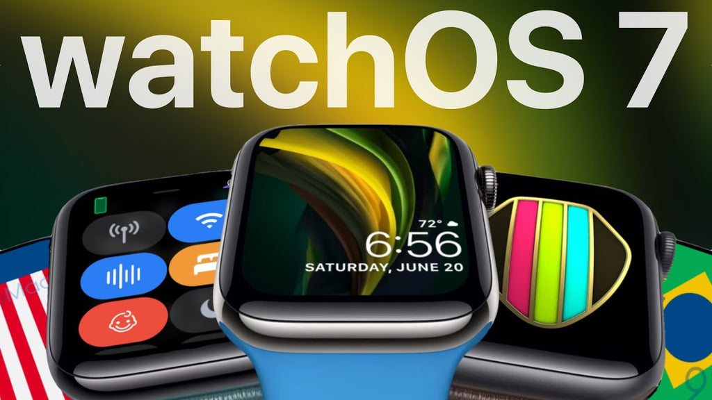 watchOS7 Apple Watch
