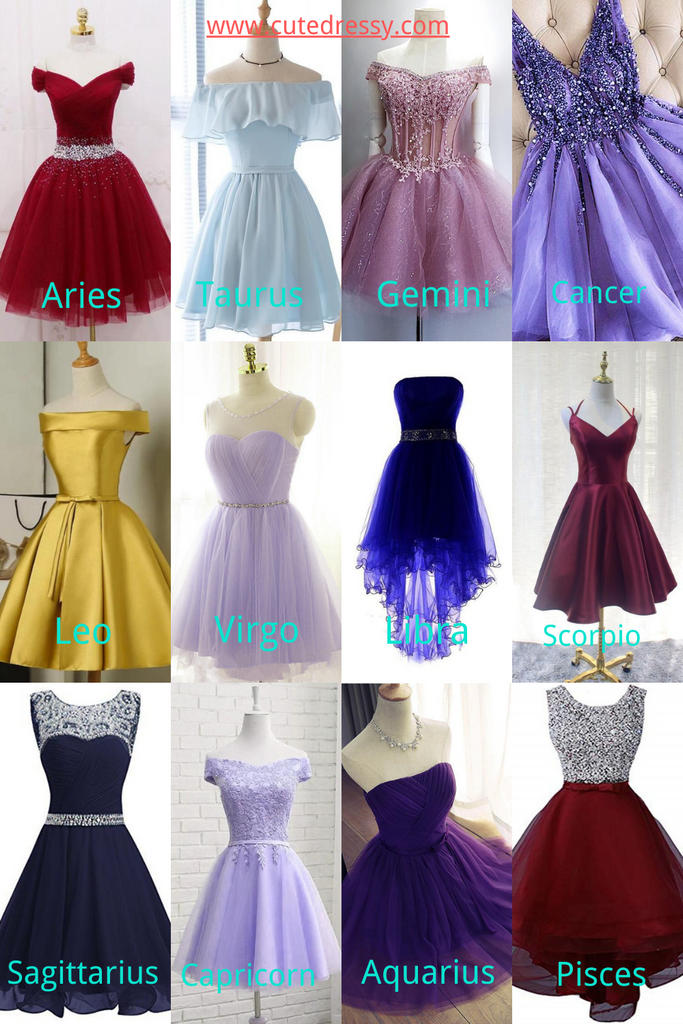 How to Choose Homecoming Dress According to Zodiac Signs