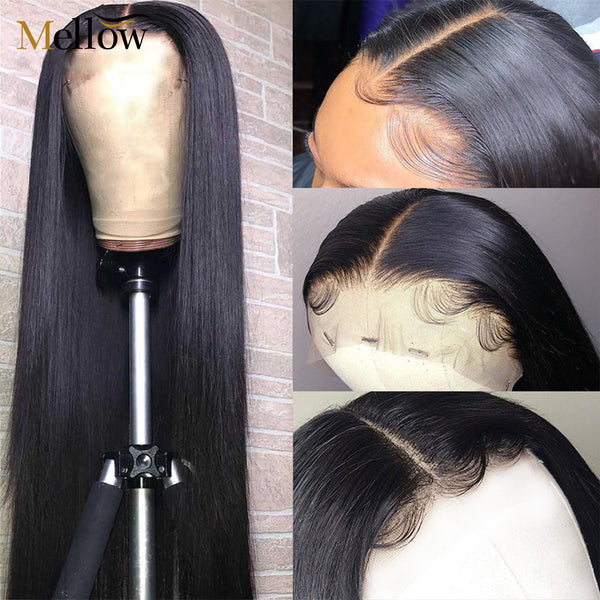 mellow straight lace wigs