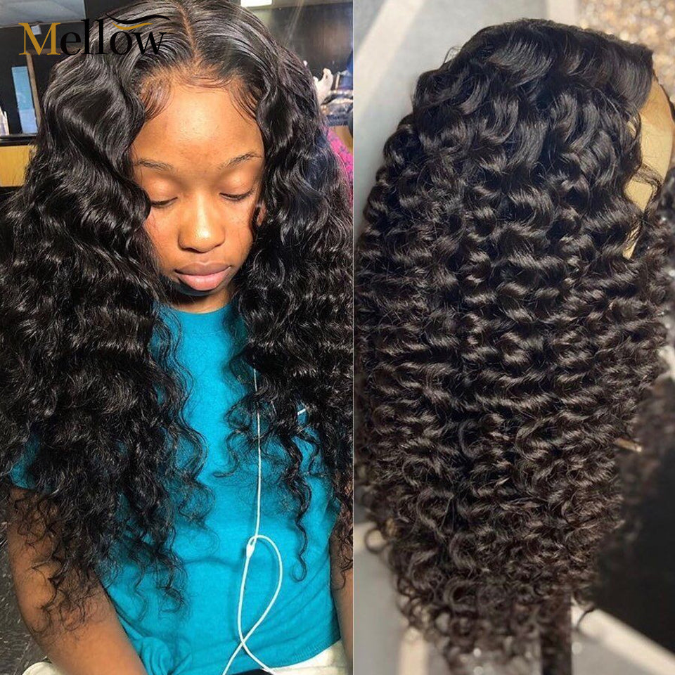 13x4 Lace front human hair wigs