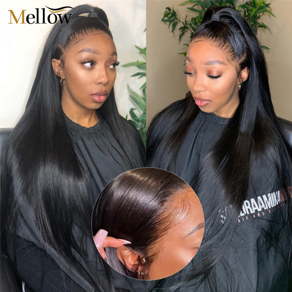 Human Hair Wigs with baby hair
