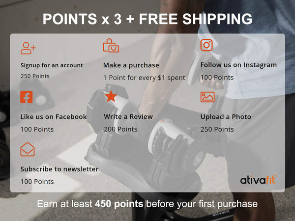 Ativafit - Earning points
