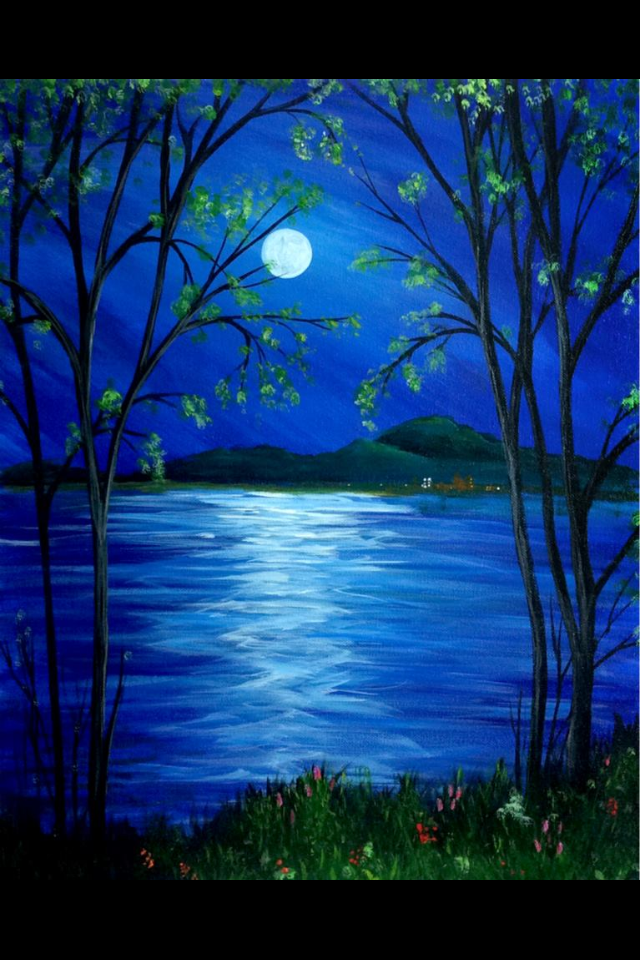 40 Easy Landscape Painting Ideas for Beginners, Simple Acrylic Painting Ideas, Easy Tree Painting Ideas, Simple Abstract Painting Ideas, Easy Canvas Painting Ideas
