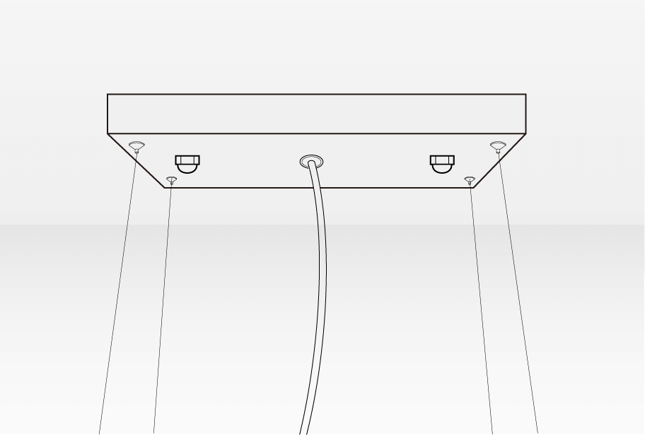 How To Install Chandelier - Connect the wires and install canopy | Sofary
