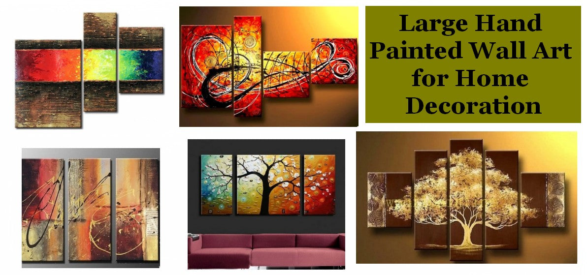 Large Paintings for Sale, Buy Acrylic Paintings Online, Modern Wall Art Paintings for Living Room