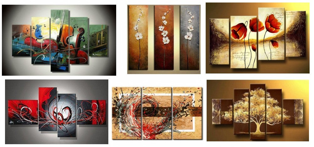 Modern Paintings, Abstract Acrylic Paintings, Abstract Paintings for Dining Room, Large Paintings for Dining Room, Buy Paintings Online