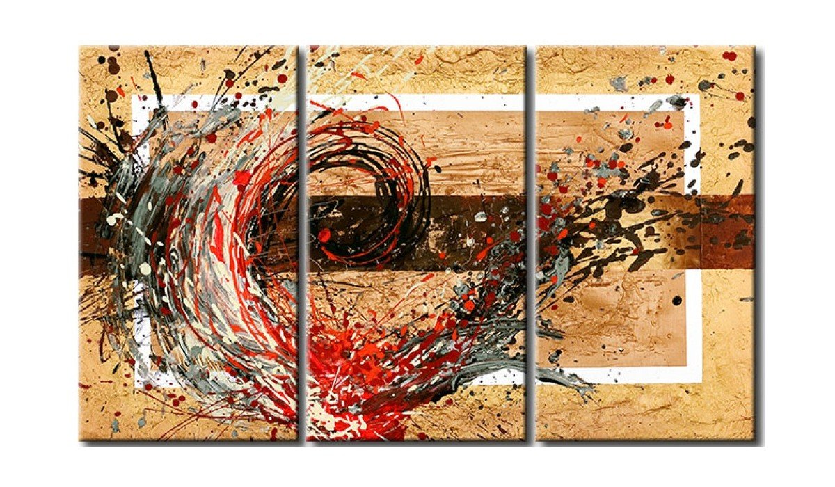 Acrylic Abstract Paintings, 3 Piece Wall Art Painting, Modern Acrylic Paintings, Modern Wall Art Paintings