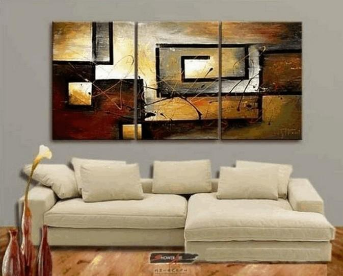 Abstract Acrylic Painting, Abstract Canvas Painting, Living Room Wall Art Paintings, Modern Art Paintings, 3 Piece Wall Art Painting