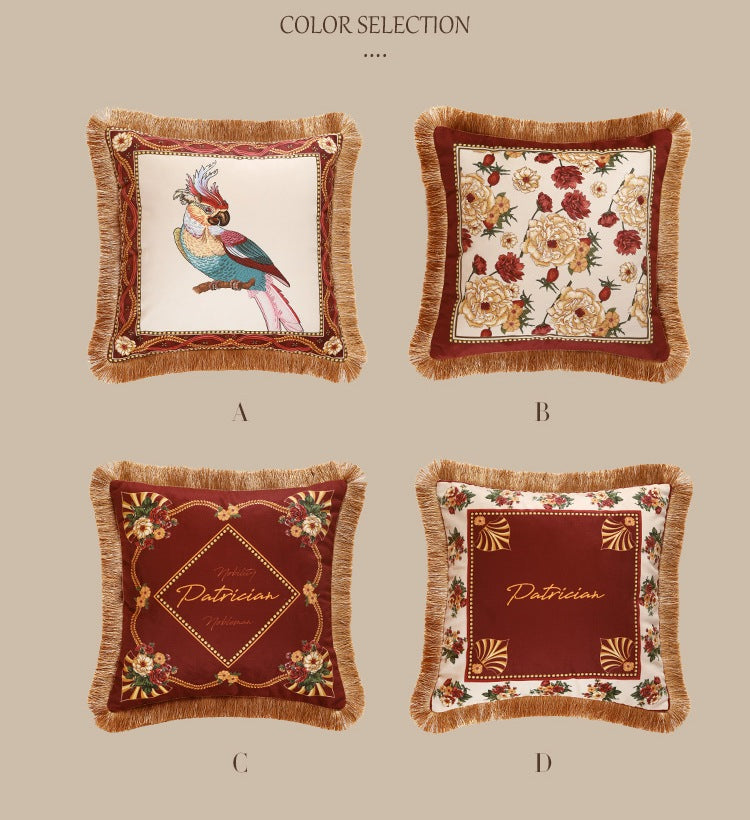 Decorative Throw Pillows, Bird Pattern Pillow Covers, Sofa Throw Pillows, Pillow Cases, Throw Pillows for Couch