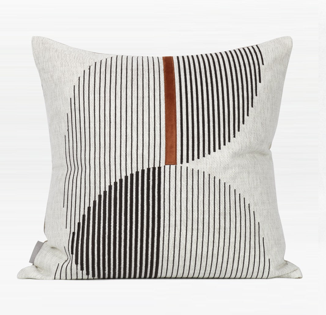 Modern Sofa Pillow, Decorative Throw Pillows for Couch, Square Pillow