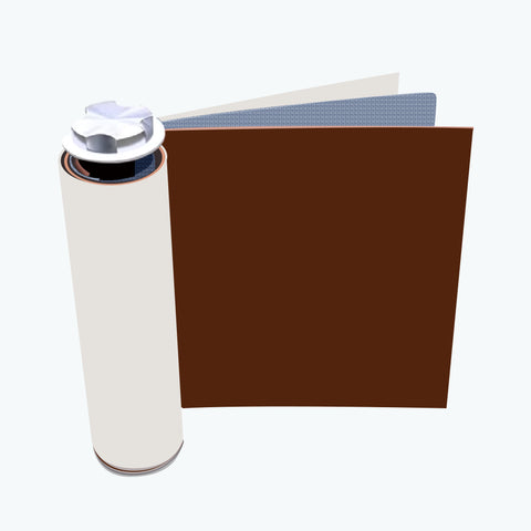 Three sheets are wounded onto a cylinder - lithium battery construction