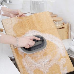 Scrubber Sponge For Build Up Removal on Kitchen Pots, Pans, Bath Fixtures, Cutting Boards Clean Tool