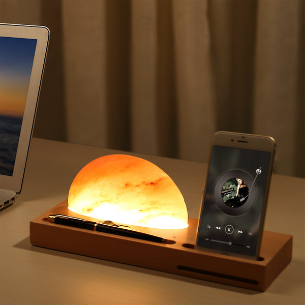 Himalayan Salt Lamp Wireless Charger